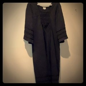 vtg Couture cotton dress